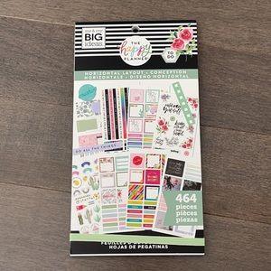 HAPPY PLANNER Horizontal Layout Sticker Book